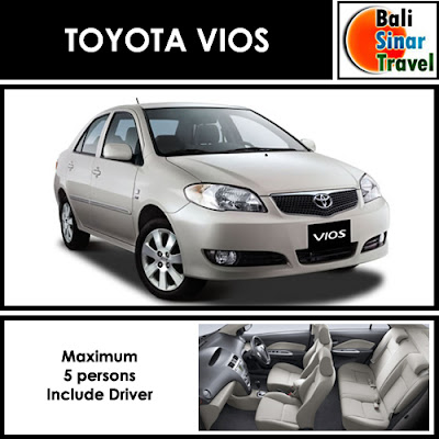 Toyota Vios Rental Bali