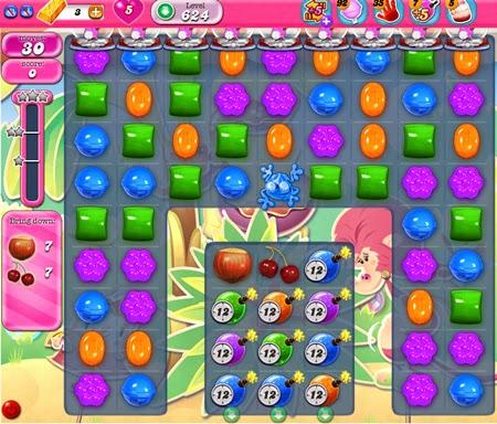 Candy Crush Saga 624