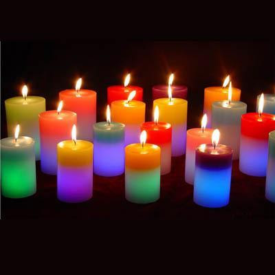 Menestrel do maranh o as velas suas cores e seus for Candele colorate