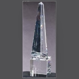 Arrow Obelisk Optic Crystal Award