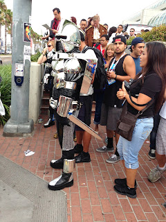 Cylons at Comicon
