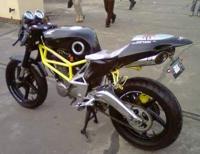Modifikasi Honda New Megapro
