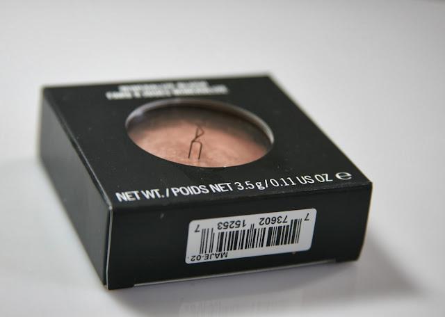 MAC Mineralize Blush Warm Soul Swatches