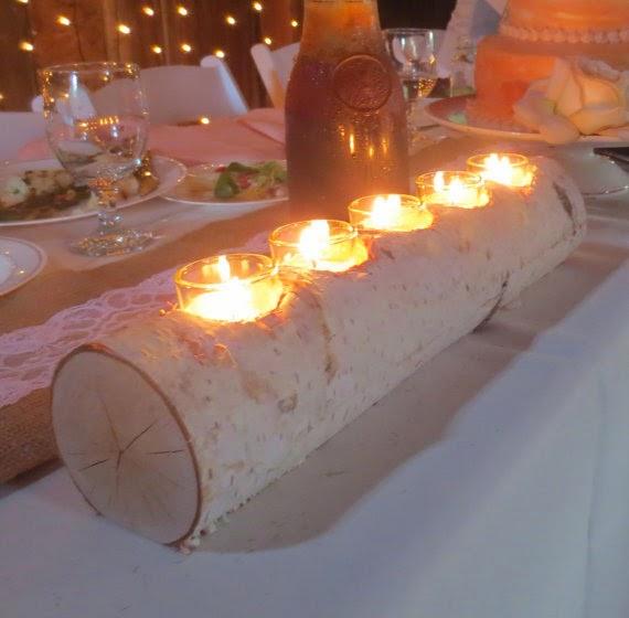 świecznik z gaęzi