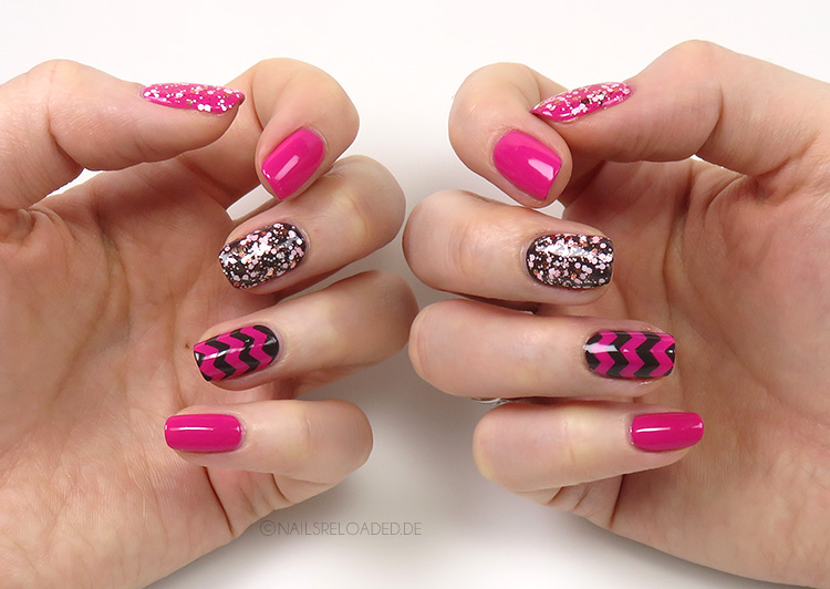 Nails Reloaded - Nageldesign Mixed Pink