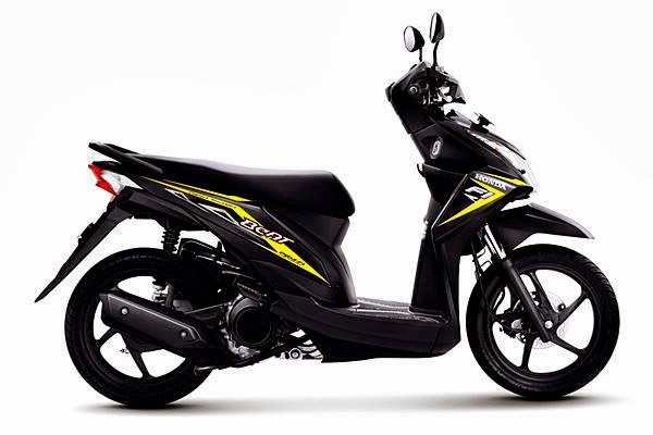 GALERI PILIHAN WARNA HONDA NEW BEAT FI 2014