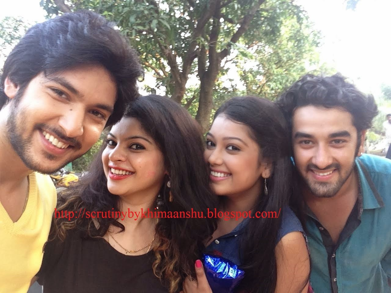 Scrutiny in pics sneha wagh birthday celebrations on the sets of join us on facebook voltagebd Choice Image