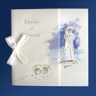Invitación para boda de playa