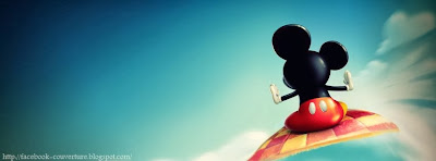 Couverture facebook hd 2014 Micky mouse