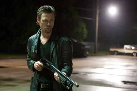 Brad Pitt as Jackie Cogan in Killing Them Softly
