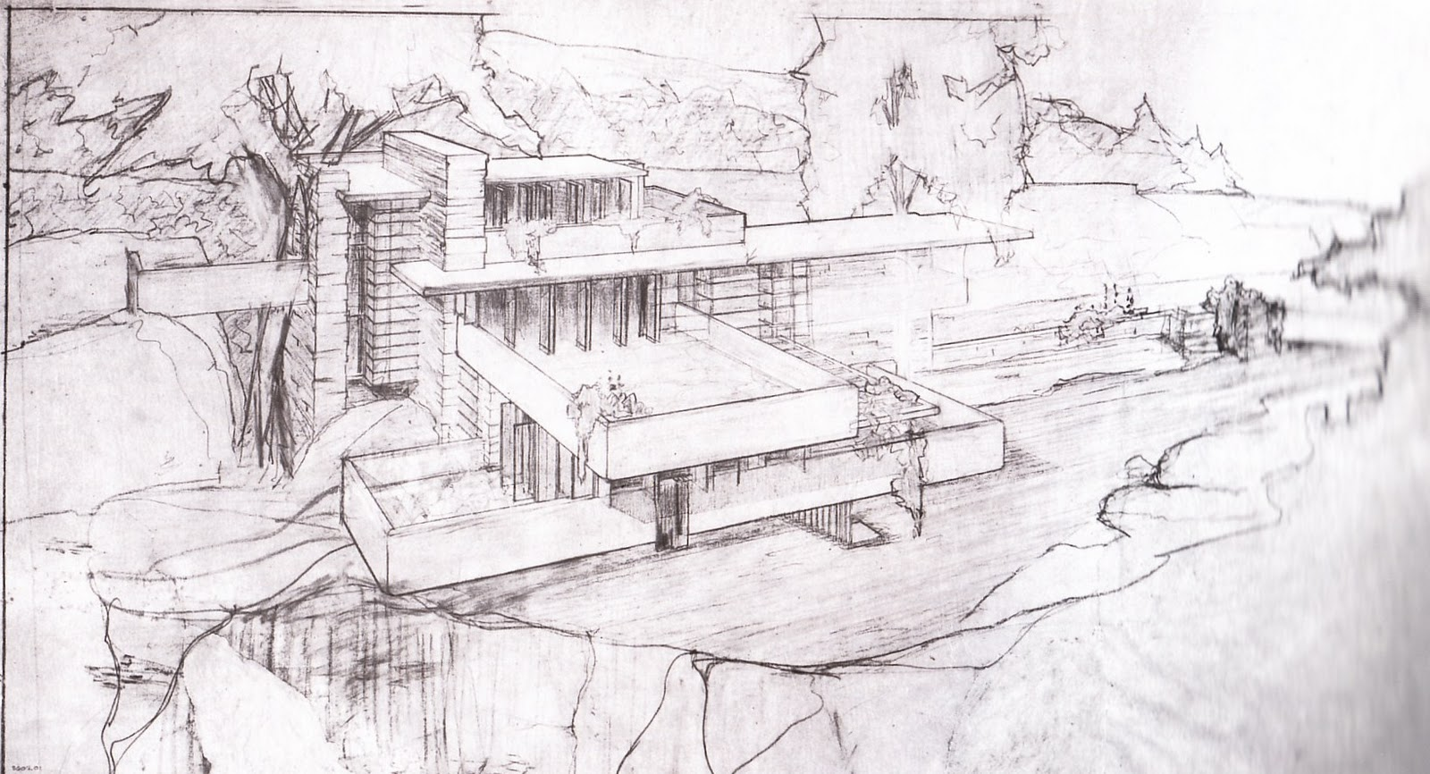 Un concetto organico for Disegno della casa di architettura