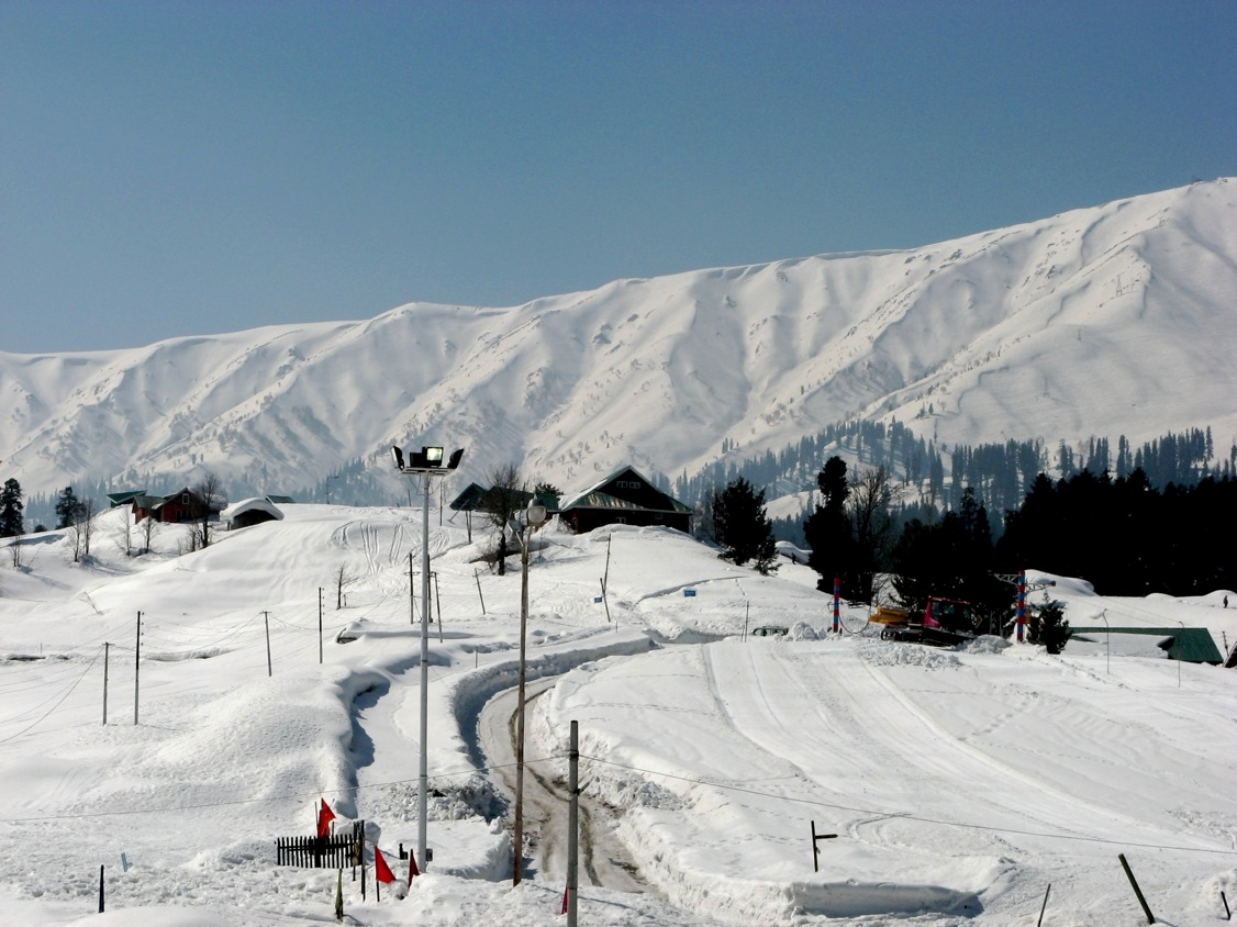 Location Of Gulmarg Tourist Places