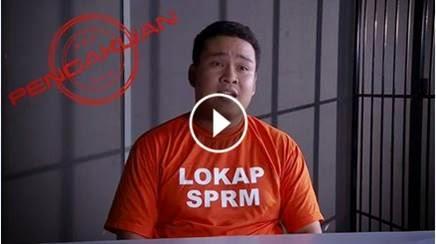 Pengakuan Nizam Ijam di TV1 Dengan Kerjasama SPRM