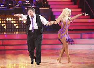 Chaz Bono and Lacey Schwimmer on their first 'Dancing With The Stars' live show