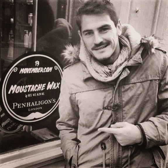 Iker Casillas grows moustache for Movember charity