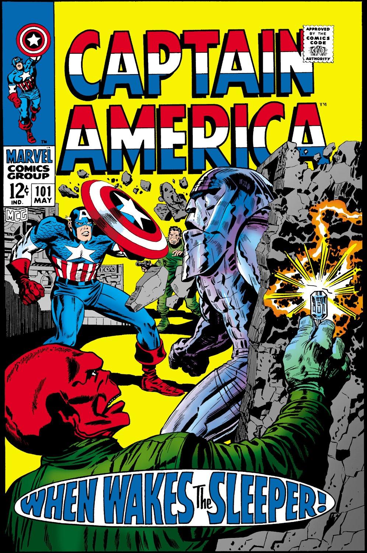 Captain America (1968) Issue #101 #15 - English 1