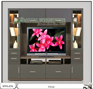 Lemari model  tv lcd minimalis Oliver