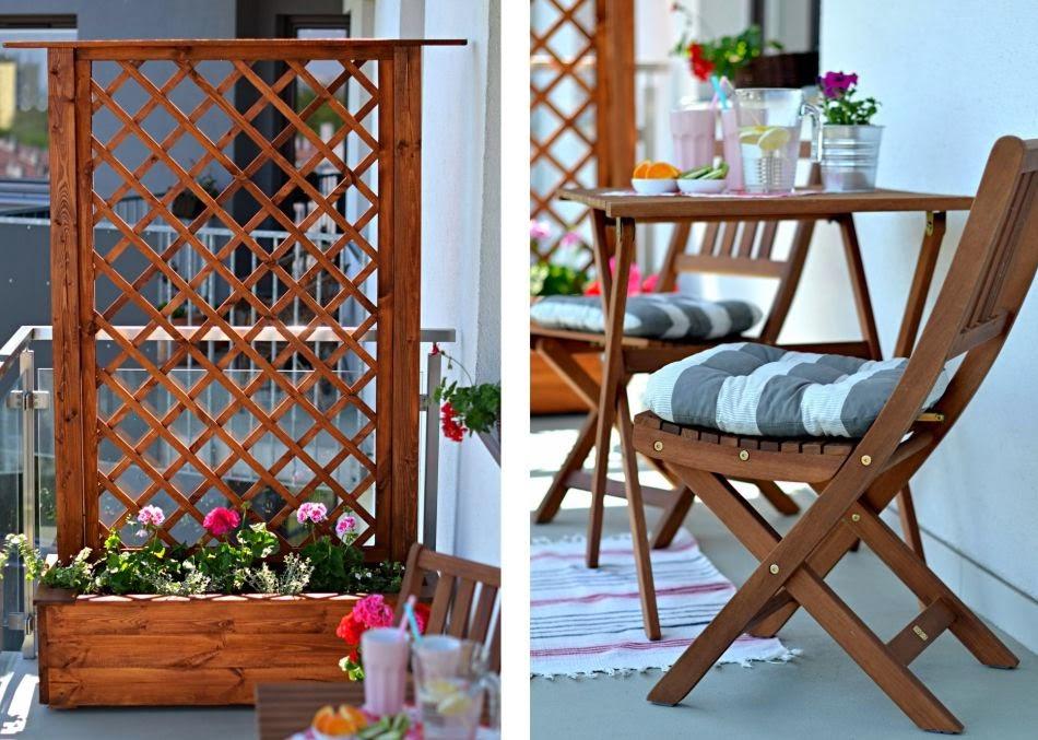 jak urz dzi balkon w bloku cammy blog o modzie. Black Bedroom Furniture Sets. Home Design Ideas