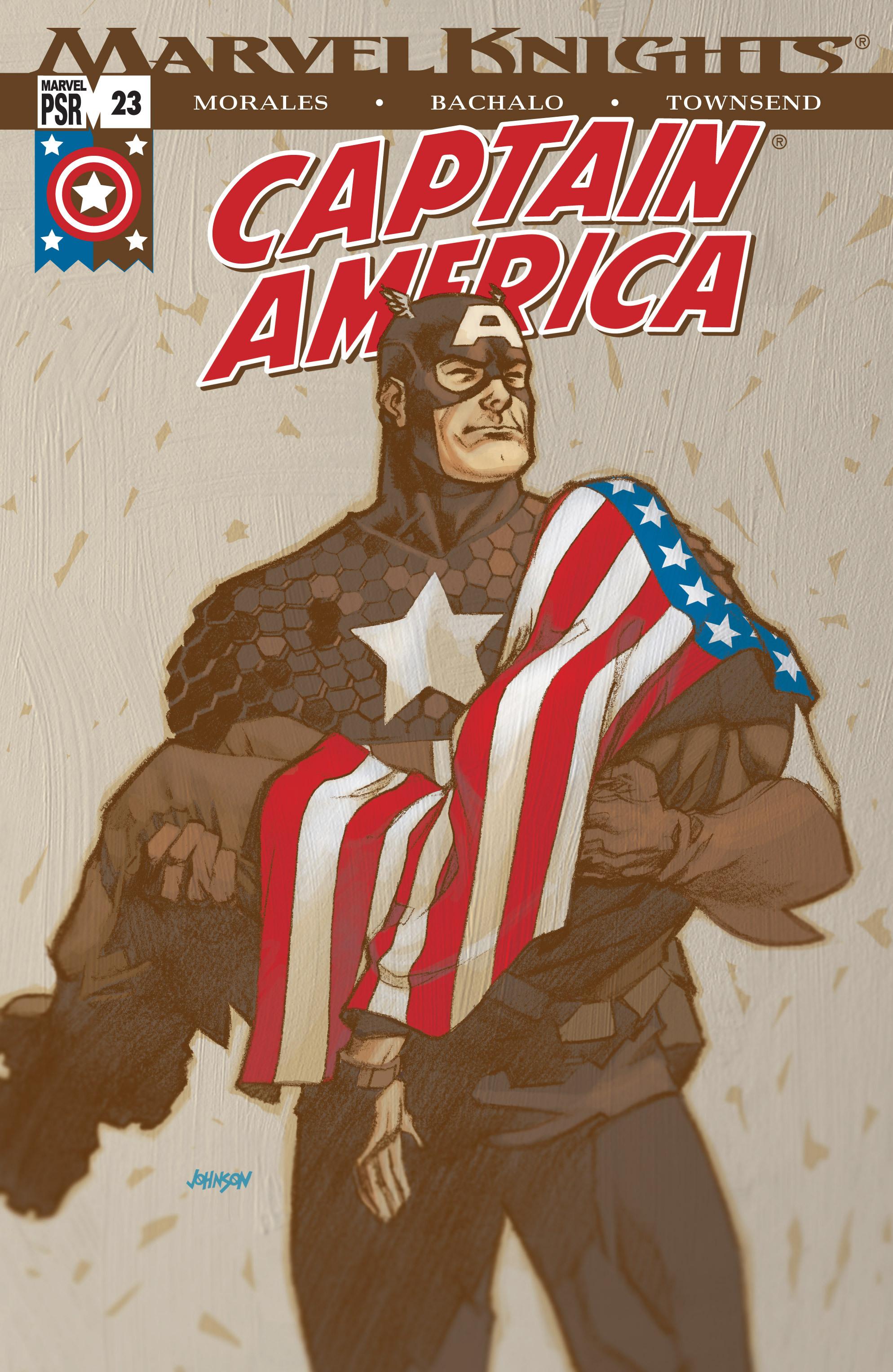 Captain America (2002) Issue #23 #24 - English 1