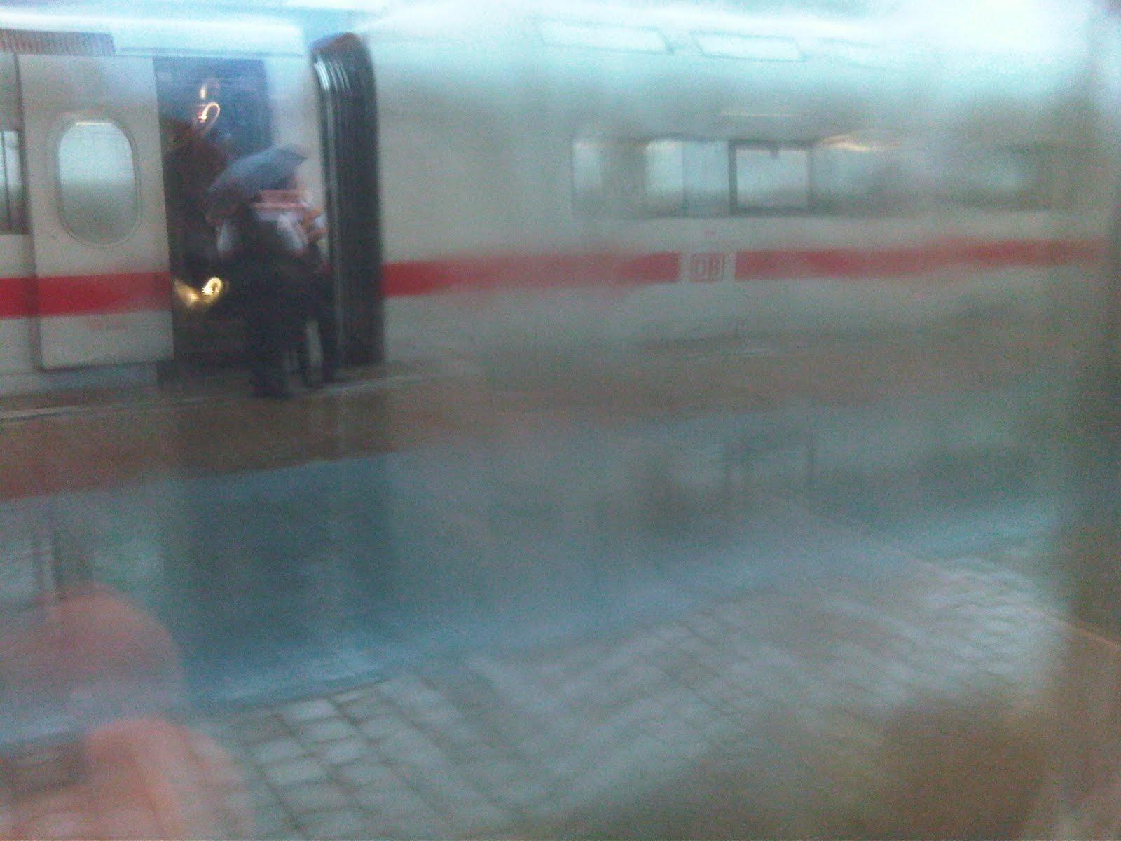 Wenn der Zug nicht fährt...