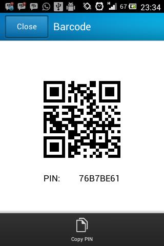 PIN BBM For Android Berubah Dengan Sendirinya