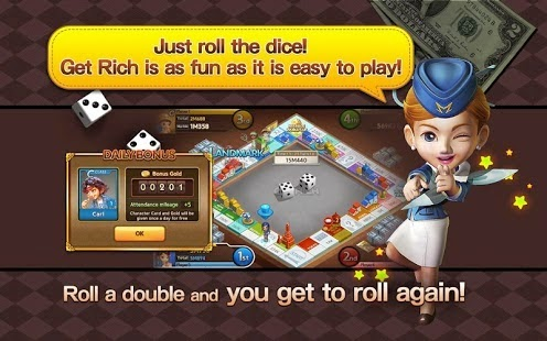 Game LINE Let's Get Rich 1.0.4 APK Terbaru 2015 screenshot