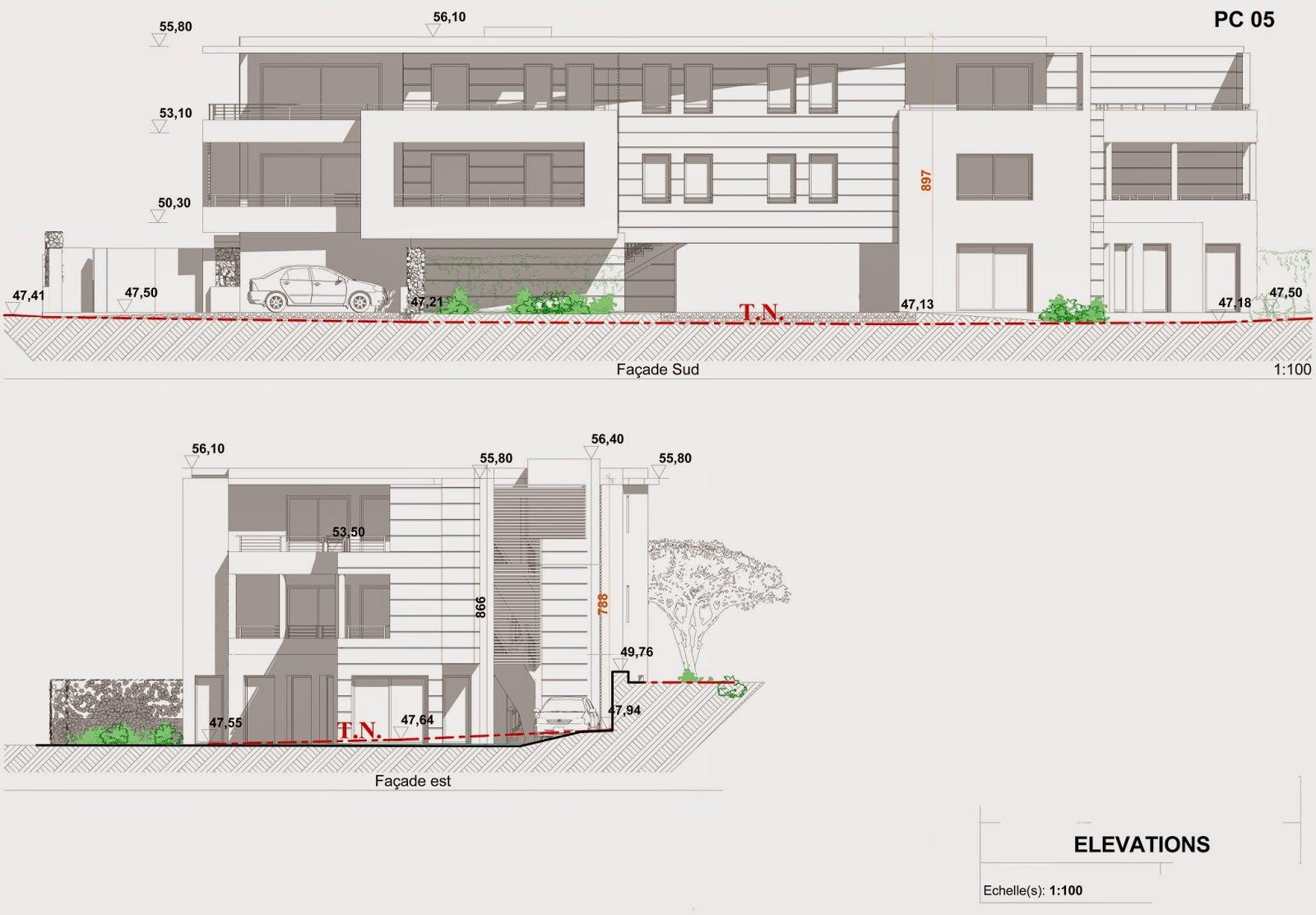 les terrasses de l 39 escourche plans permis de construire. Black Bedroom Furniture Sets. Home Design Ideas