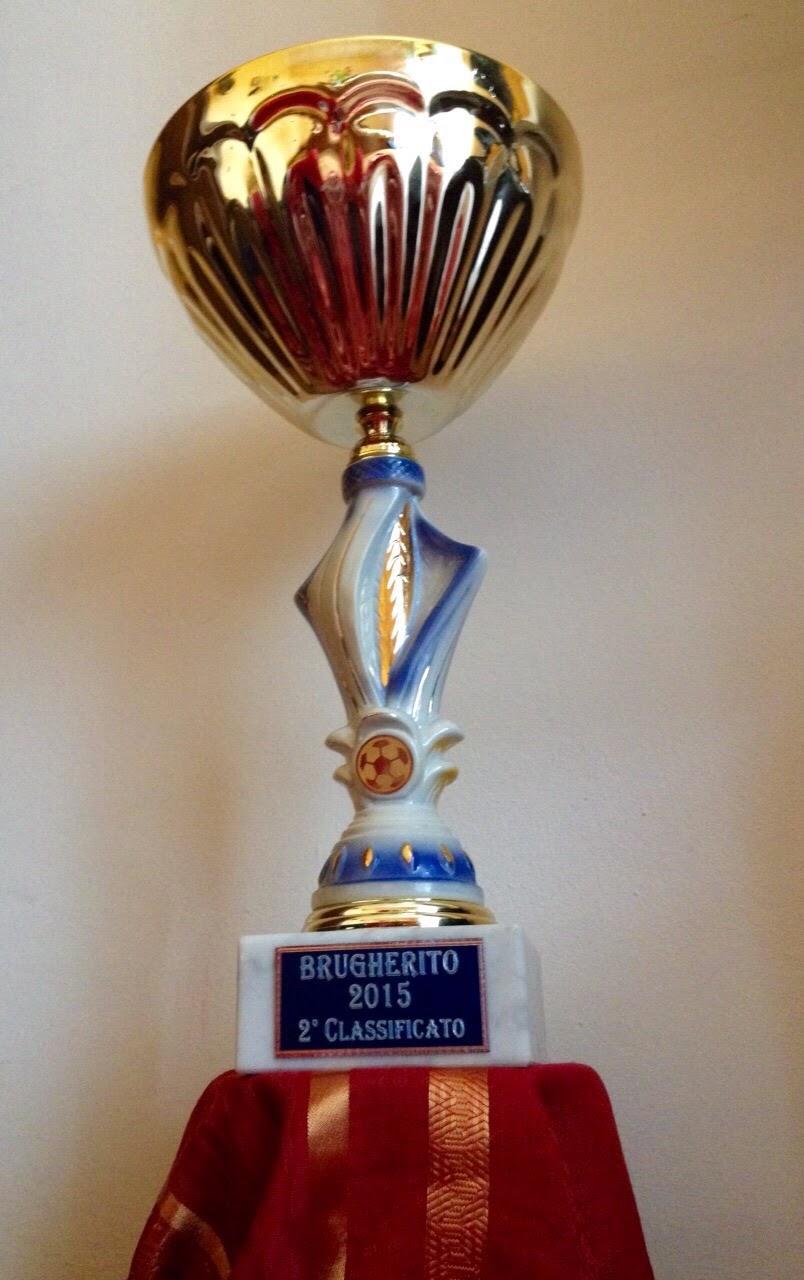 La Coppa Brugherito secondo posto