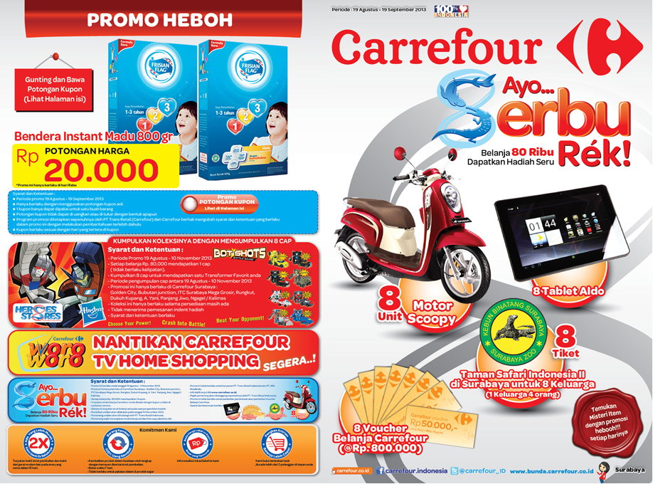 informasi harga dan promo terbaru 2013 katalog promo carrefour terbaru special arus balik. Black Bedroom Furniture Sets. Home Design Ideas