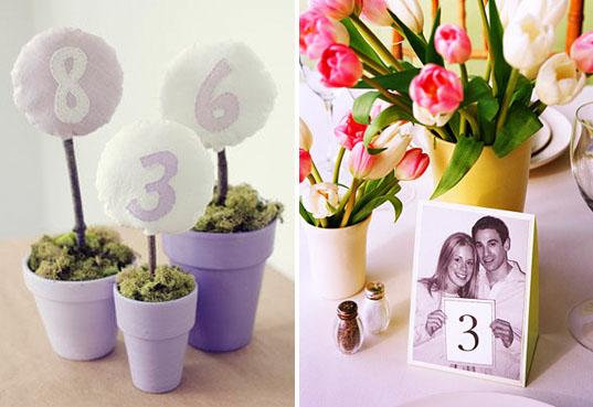Ideas originales para numerar las mesas de la boda mis for Mesas de boda originales