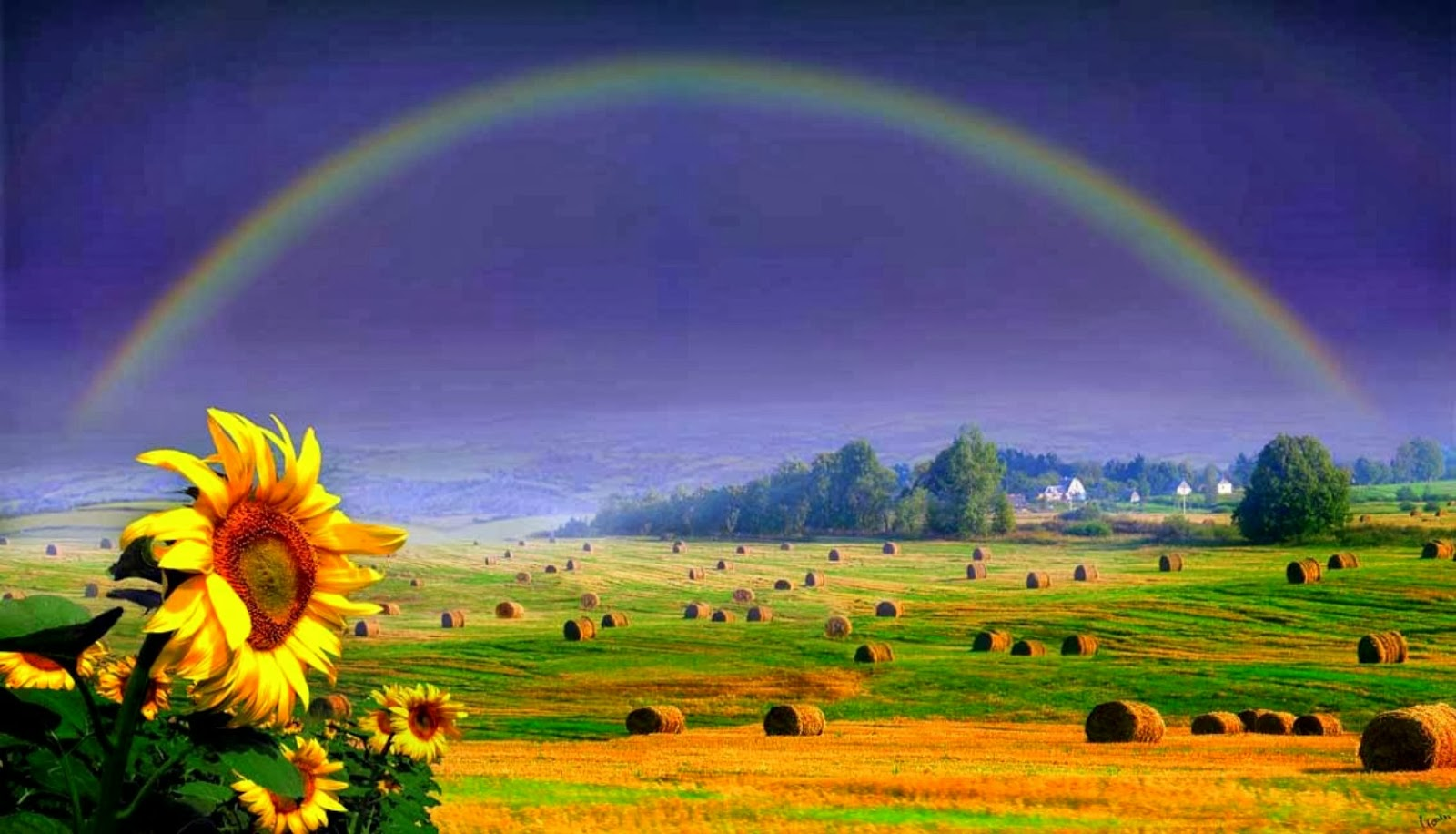 Download rainbow wallpapers most beautiful places in the world download rainbow wallpapers voltagebd Choice Image
