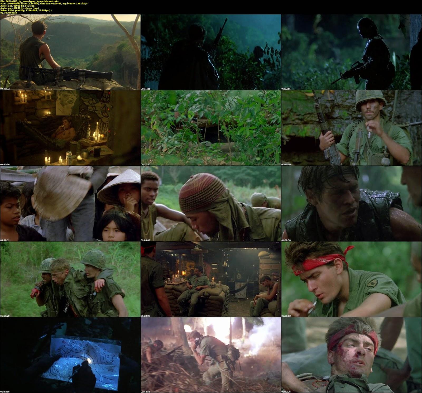 Platoon [1986] [BBRip] [Latino - Subtitulada]