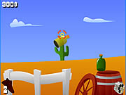 Kovboy Şişe Sektirme Oyunu
