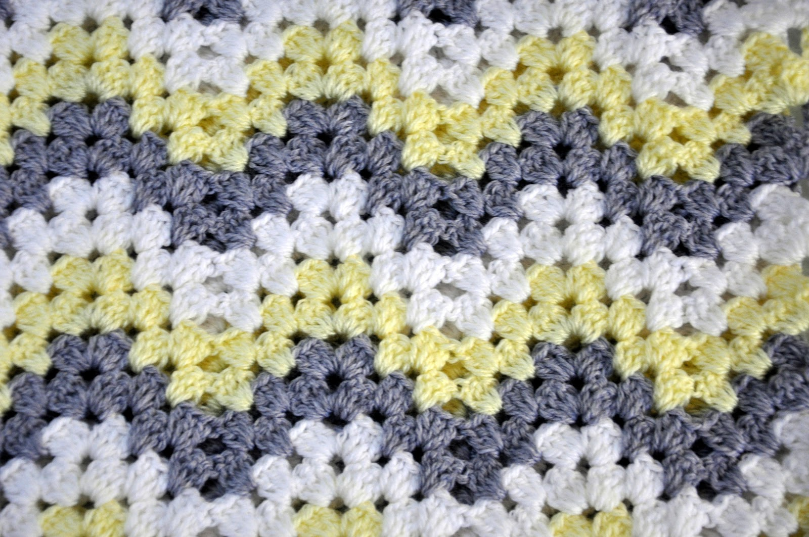The Kc Experience Granny Ripple Baby Afghan