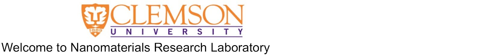 Welcome to Nanomaterials Research Laboratory at Clemson University