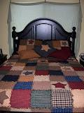 Rag Quilt Bedroom Set