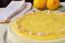 Ultimate Lemon Mousse Cheesecake