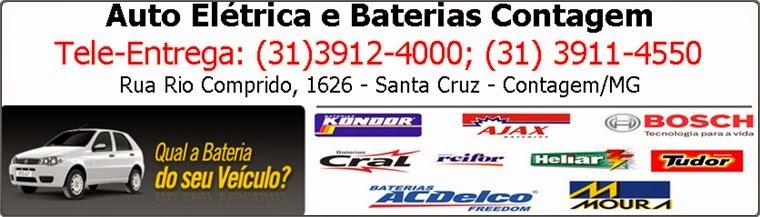 Bateria Automotiva e Auto Elétrica Contagem MG