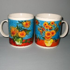 Buy Vincent Van Gogh Sunflowers Ceramic Mug