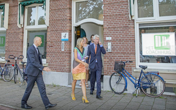 Queen Maxima Visited The Talent Coach Foundation In The Hague
