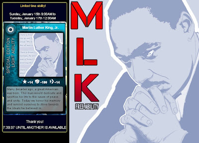 Martin Luther King Jr at Superhero City