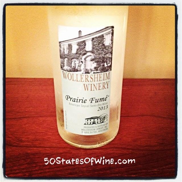 Wollersheim Winery 2013 Prairie Fumé