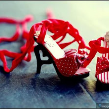 red, heart, shoes, beautiful