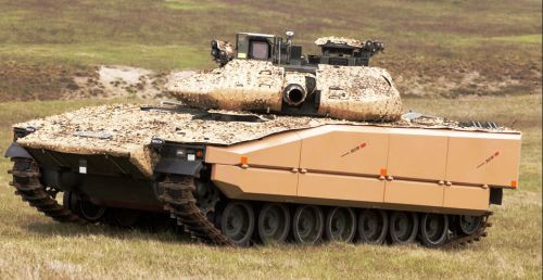 Kit perlindungan untuk MBT CV9040