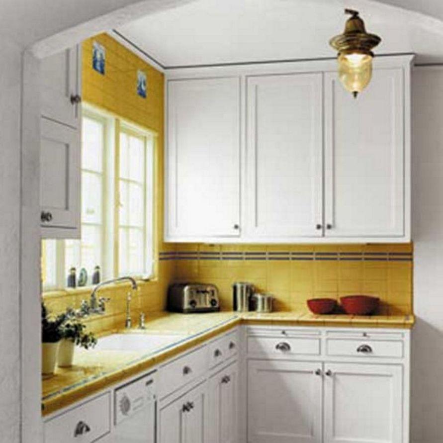 kreativitas interior desain dapur mungil tapi cantik terlihat cantik