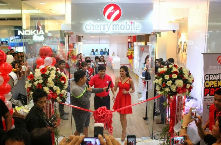 Cherry Mobile Newest Concept Store In SM North EDSA
