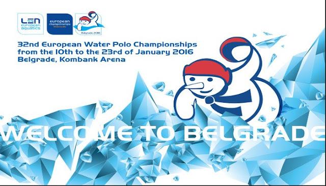 WATERPOLO - Campeonato de Europa masculino 2016 (Belgrado, Serbia)