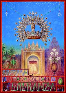 Sevilla - Cartel del Cincuentenario de la Coronación Canónica de la Macarena - 2014