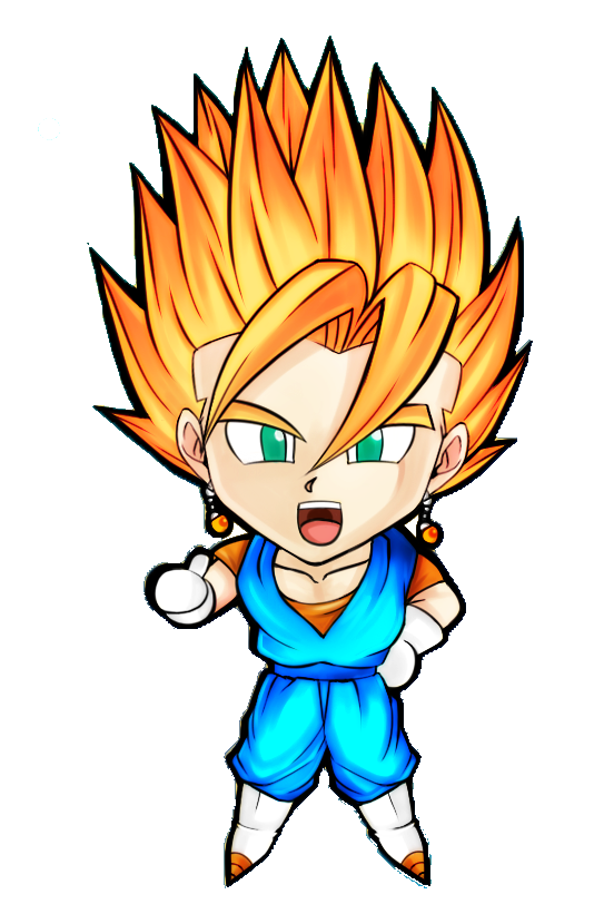 CHIBI DRAGON BALL Z PROJECT OF RENDER