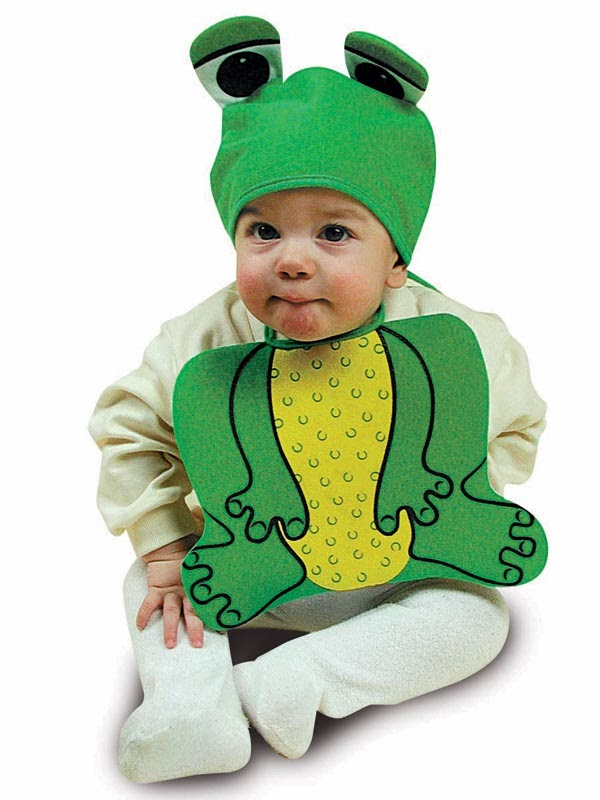 Baby frø kostume